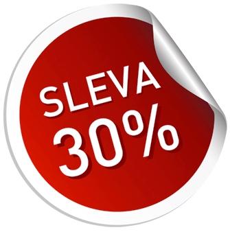 30% sleva
